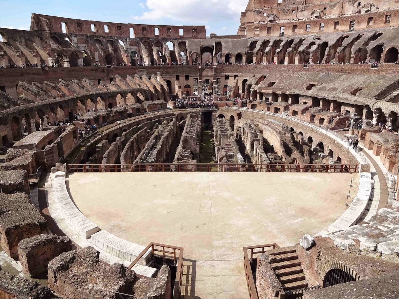 Proposal to rebuild arena floor of Rome's Colosseum