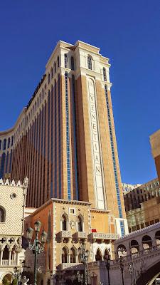 Exterior of the Venetian at the Las Vegas