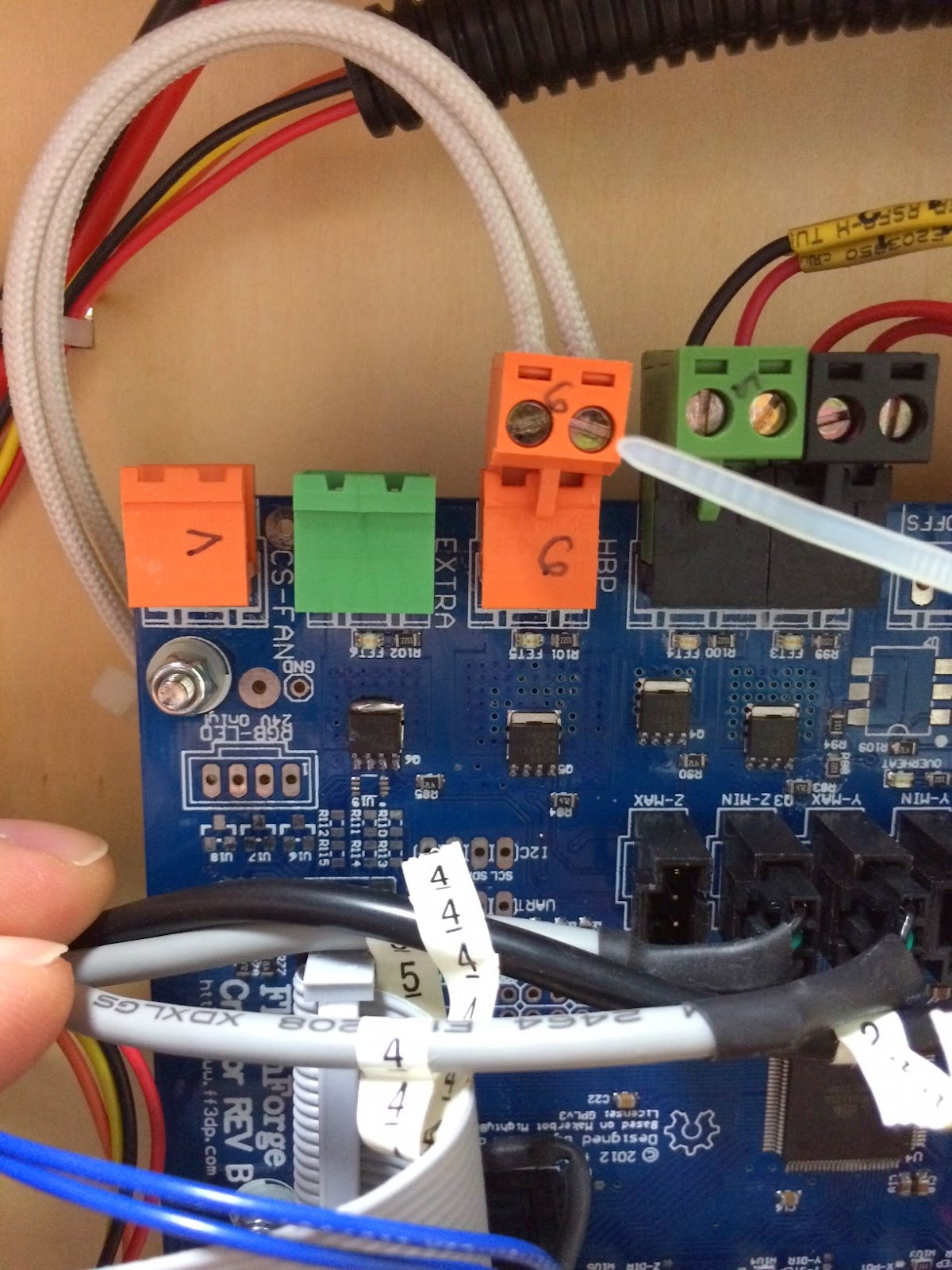 Extra Fet Fet6 Activation Via Gcode Or Filament Fan Option On Iron For Computer Motherboards Circuit Board 11m Cable Ebay Ok So I Finally Bit The Bullet And Installed My Mosfet Connector Block Auto Reset Cap Last Night