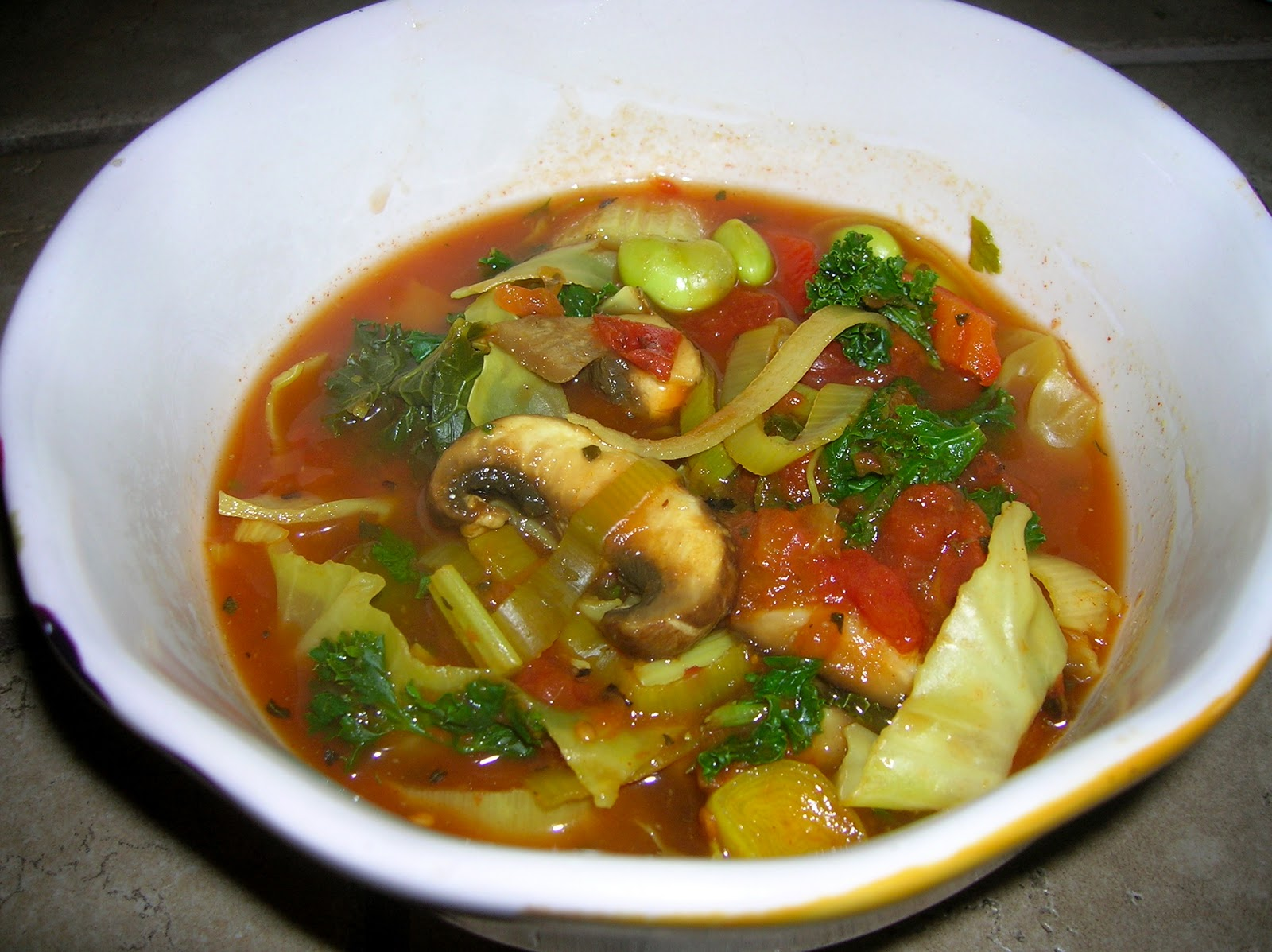 The Southern Herbivore: Organic Cancer-Fighting Vegetable Soup