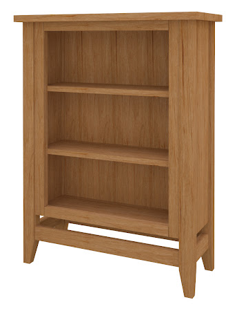 Venice Standard Bookshelf in Calhoun Maple