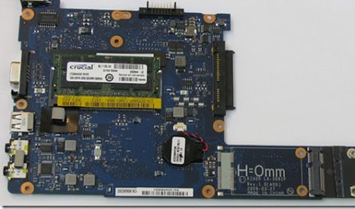 Dell Mini 10v mainboard and memory slot jRin.net
