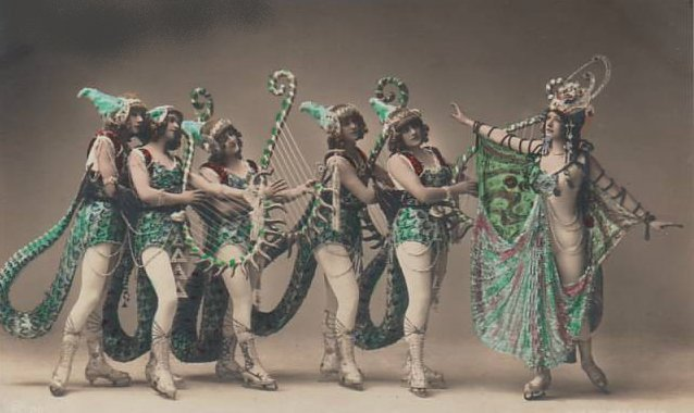 vintage femme danse