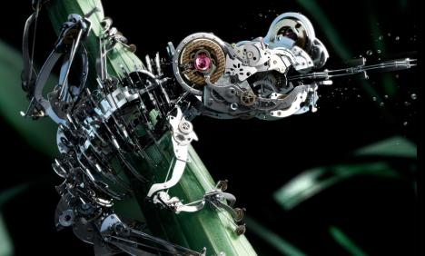 "Tag Heuer ""The Frog — Everything Can Change in 1/1000th Of A Second"""