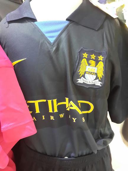Jual Jersey Kids Manchester City AwayTerbaru 2014-2015