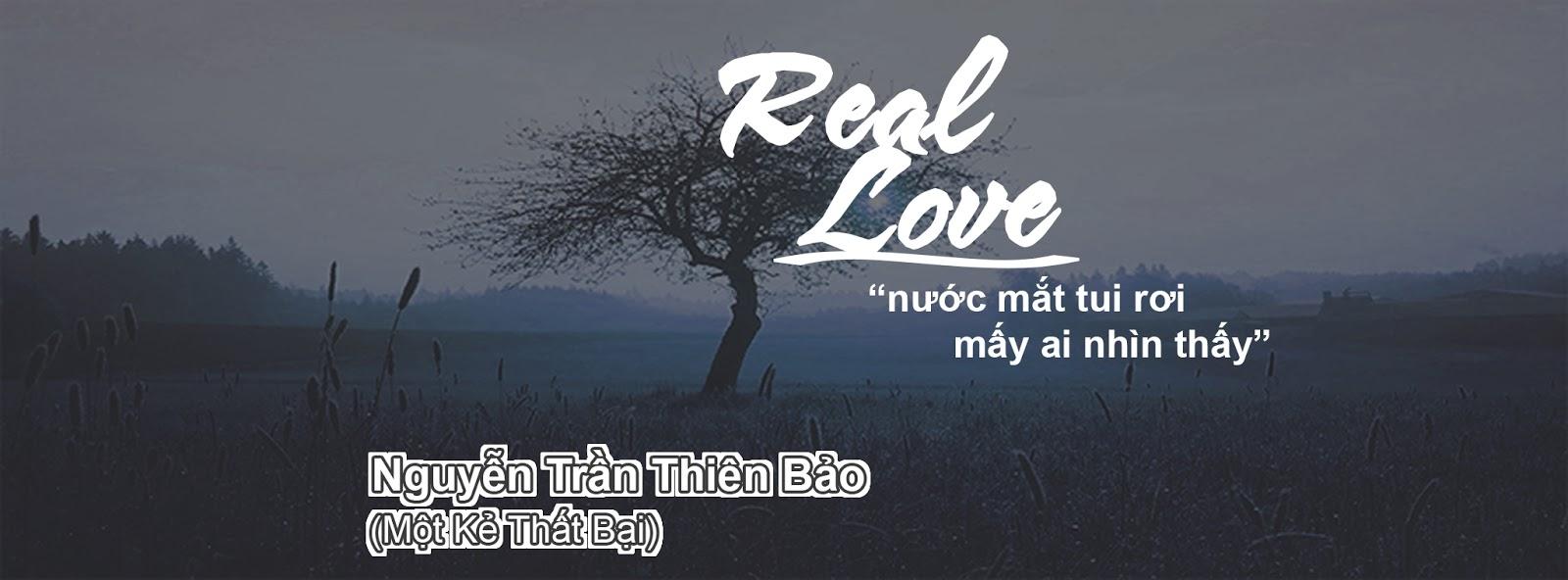 [ PSD ẢNH BÌA ] REAL LOVE