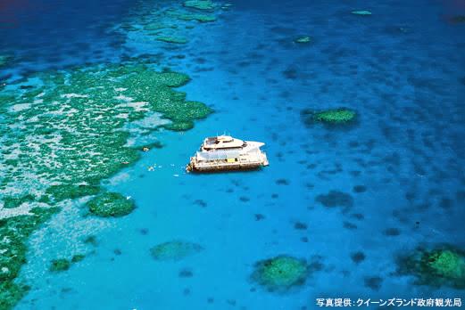 360度サンゴ礁/アウターリーフへ(イメージ)