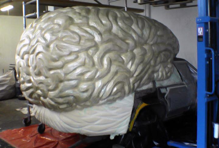 Колата мозък - етап от правенето й