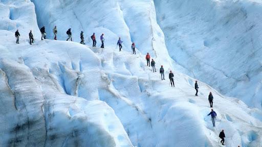 Hiking Briksdalsbreen, Sogn and Fjordane, Jostedalsbreen Glacier, Norway.jpg