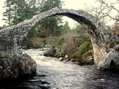 Carr Bridge in Scotland