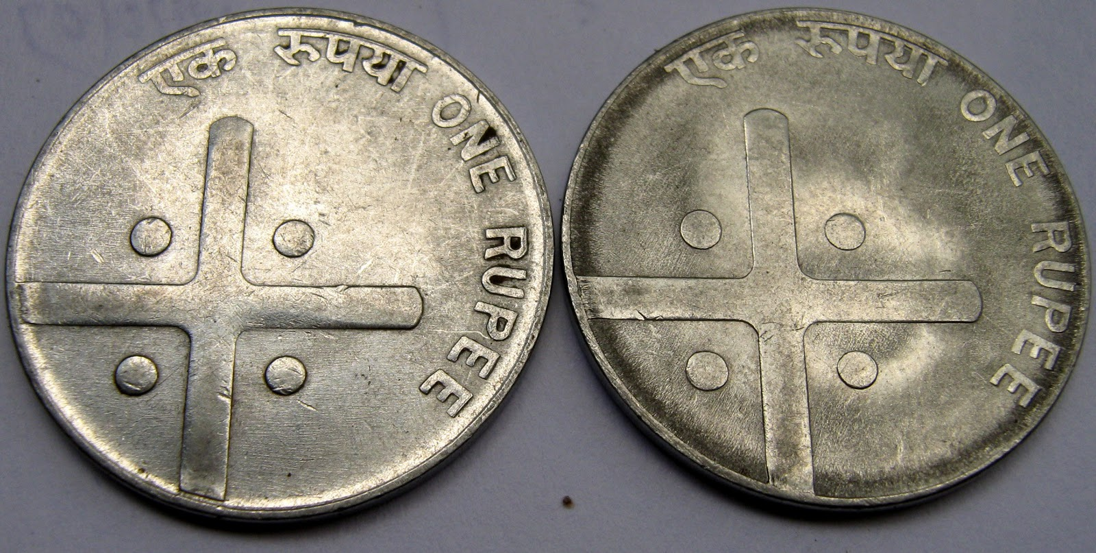 Beekar The Numismatist Regular Cross Coins Issued In India