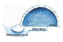 W toroncie wszystko co chcieliby cie wiedzie o eskimosach for Interieur igloo