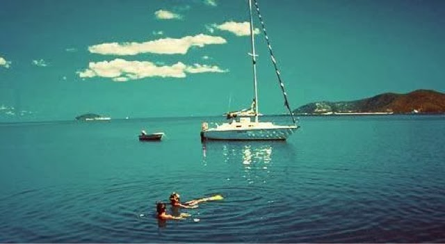 sailing in the Withsundays