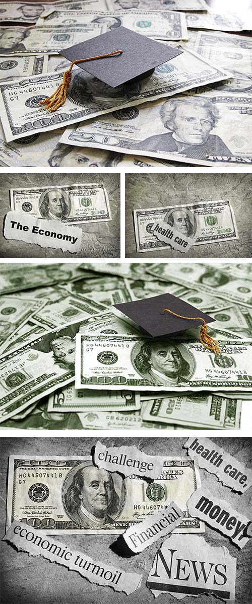 Stock Photo: Education costs