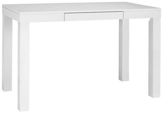 Parsons Table Ikea : recently purchased this Ikea desk to sit behind my couch. Its long ...