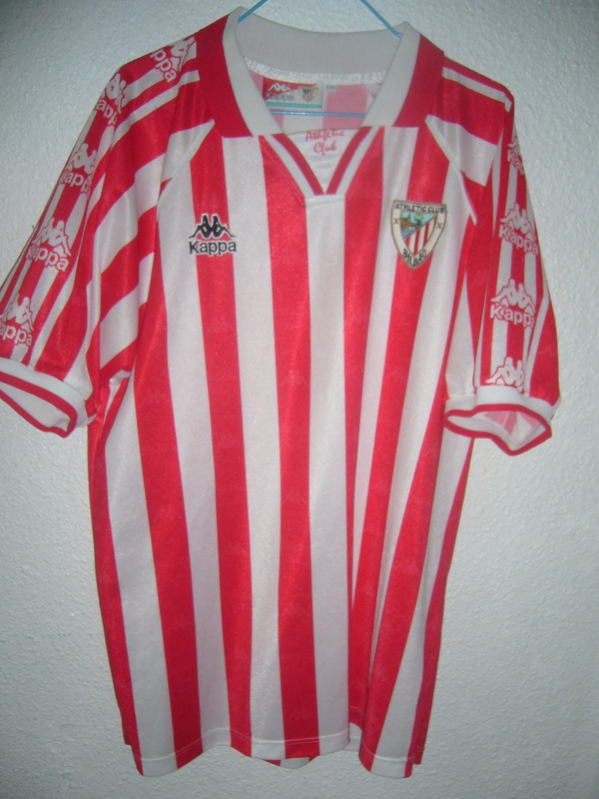 Mi colección de camisetas de fútbol  Camiseta Athletic de Bilbao ... e4baa1a297e47
