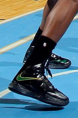 wearing brons nba lebron10 id paul milsap 10 Wearing Brons: Paul Millsap Rocks Nike LeBron X iD Jazz PEs
