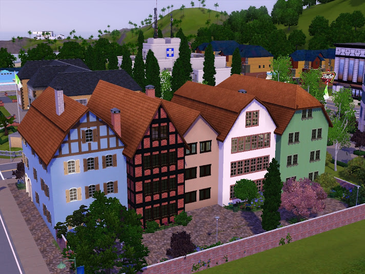 sims dels world old houses