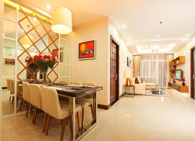 Thiết kế nội thất căn hộ Ecohome 3 Cổ Nhuế