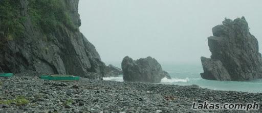 Ampere Beach, Dipaculao - 4:02 PM