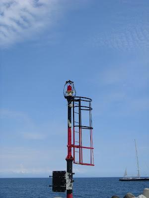 埠頭の信号