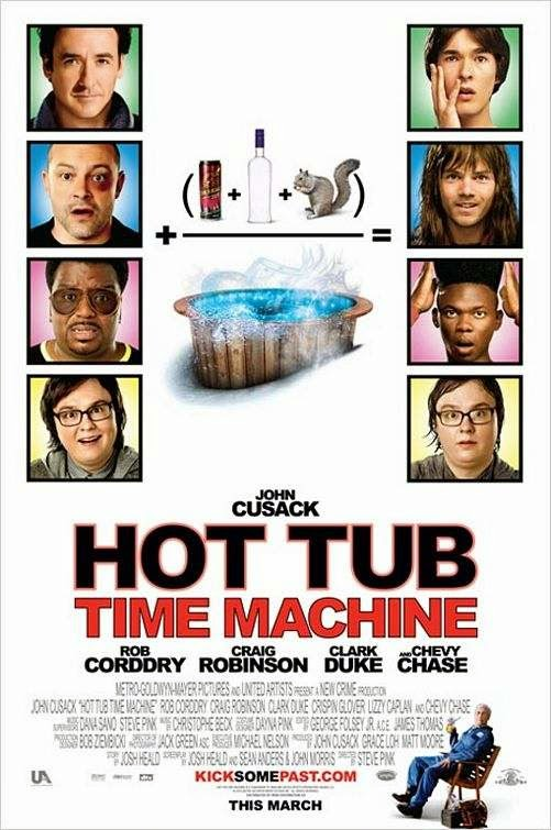 Poster Of Hot Tub Time Machine (2010) Full Movie Hindi Dubbed Free Download Watch Online At Alldownloads4u.Com