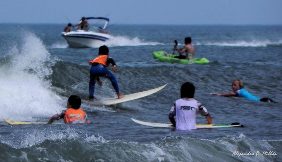 Surf en Necochea cuarta ola de ASQN