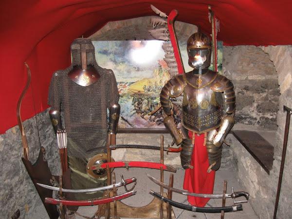 zamek ogrodzieniec - wystawy uzbrojenia