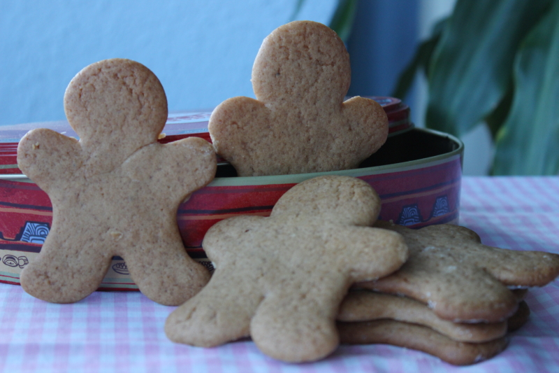 Galletas de jengibre - Gingerbread man