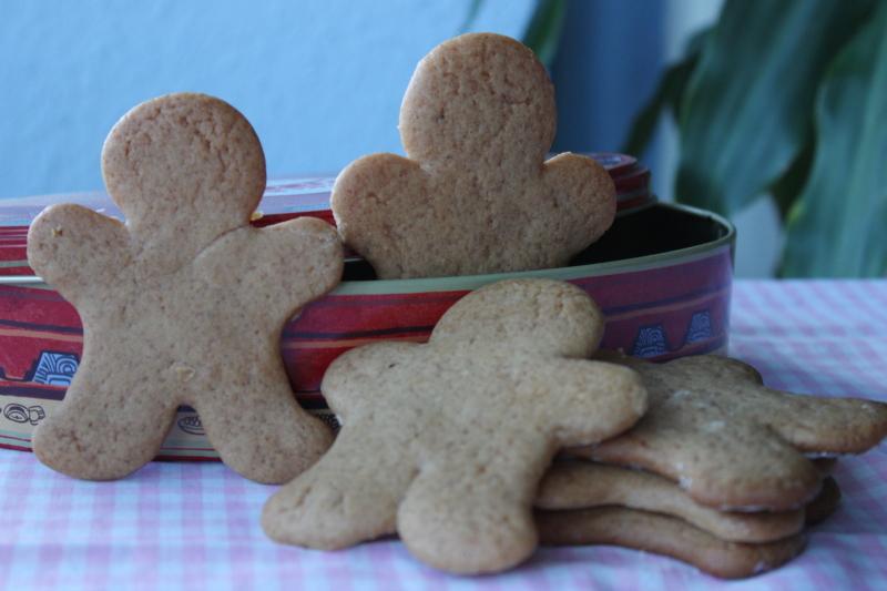 Galletas de jengibre - Gingerbread man