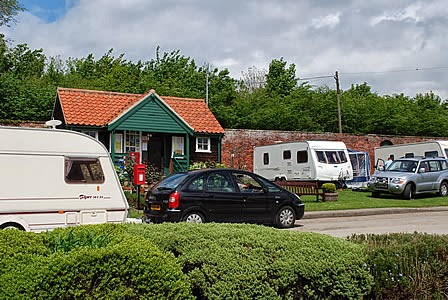 Thorpe Hall Caravan Park at Thorpe Hall Caravan Park