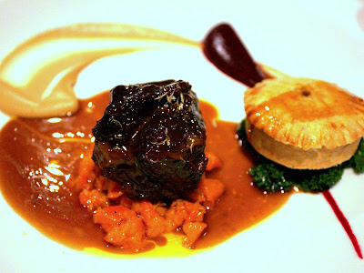 Beef Cheek at Kitchen W8 Restaurant