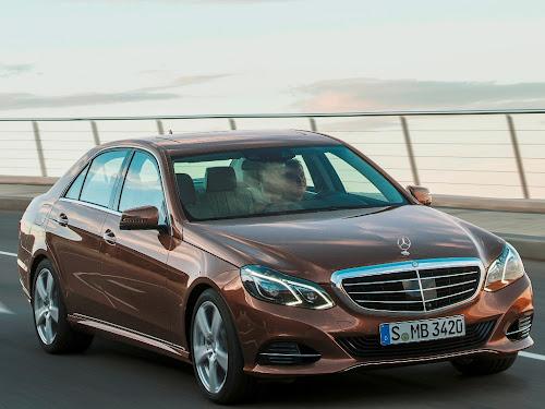 Mercedes E 200 NGD (CNG) - najbardziej ekologiczne auto według ADAC