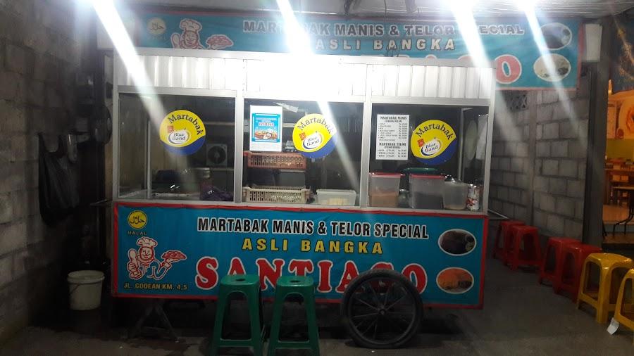 Martabak Manis and Telor Special Asli Bangka Santiago