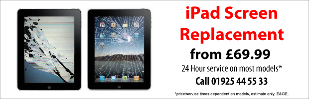 Iphone Ipad Reapir Warrington, starting from £29.99