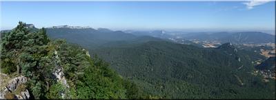 Panorámica desde la cima – 2011