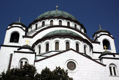 Saint Sava Church in Belgrade Serbia