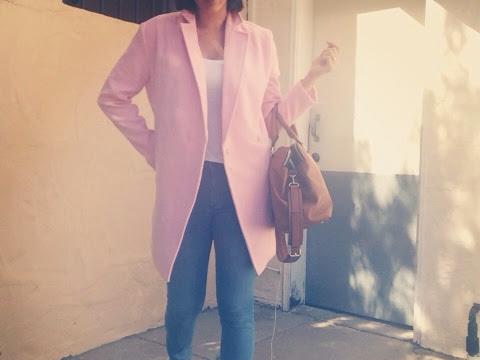 Big Pink Coat