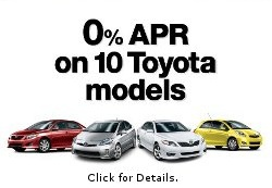Toyota Specials | Toyota of Palo Alto Dealership