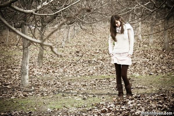 thơ mùa đông nhớ người yêu