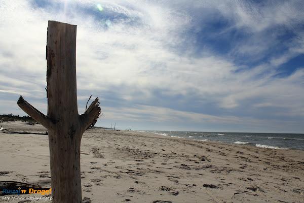 Plaża koło Czołpina