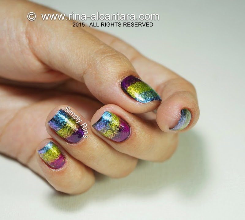 Nail Art: Fantastical Sponged