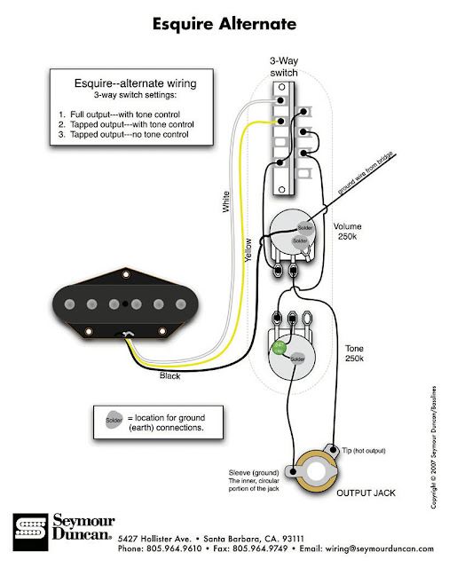 tapped esquire wiring combo i can t seem to find or solve telecaster guitar forum