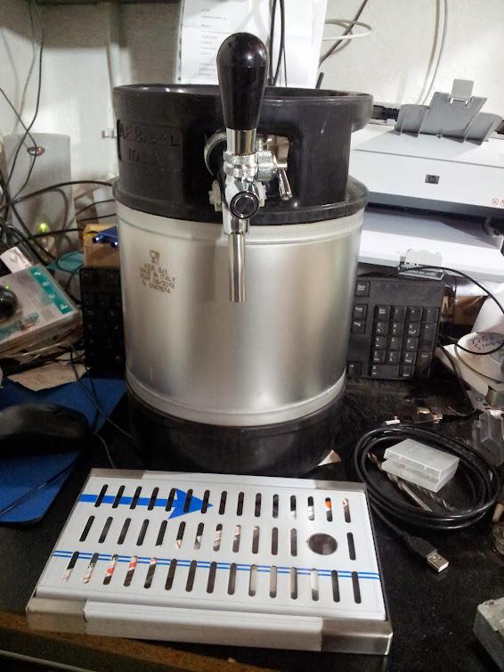 Spillatore refrigerato birra autocostruzione - Spillatore birra da casa ...