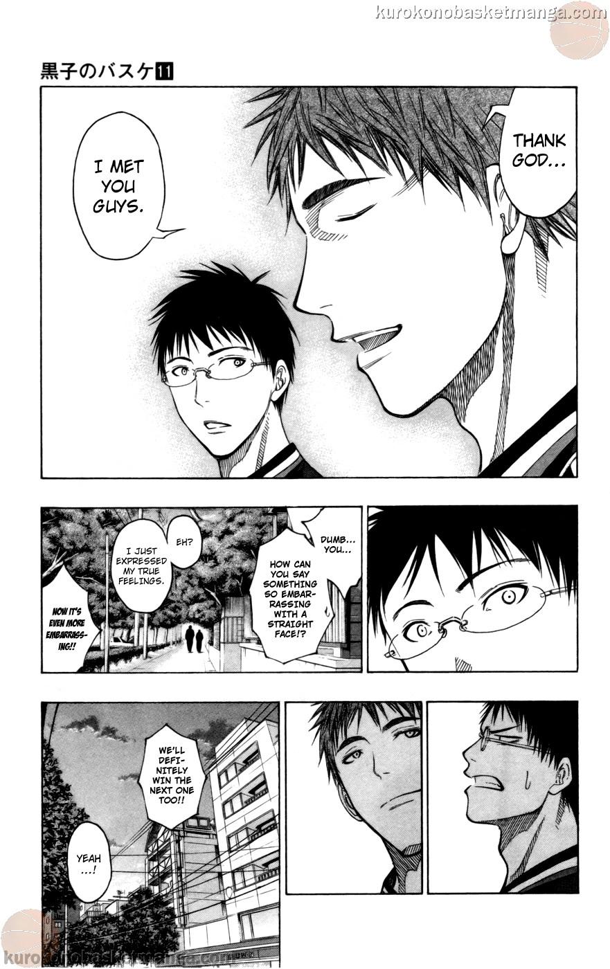 Kuroko no Basket Manga Chapter 98 - Image 07