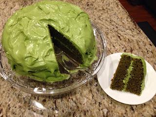 (Matcha) Green Tea Cake
