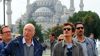 Orlando Bloom in Istanbul