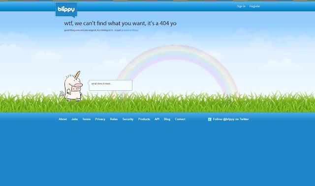 *充滿創意的404錯誤頁面|404 Not Found Error Web page 9