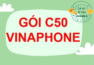 Gói cước C50 VinaPhone miễn phí 50 phút gọi và 50 SMS nội mạng