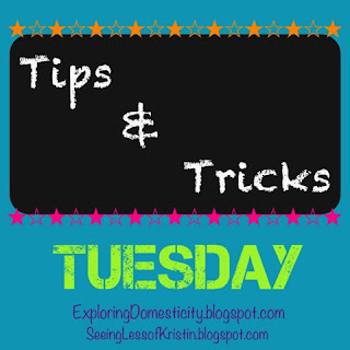 {Healthy} Tips and Tricks Tuesday